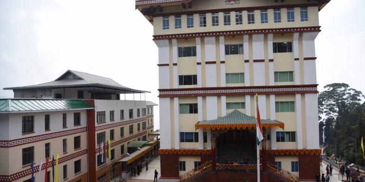 Newly-built picturesque secretariat complex  in Gangtok. Photo: Northeast Now.