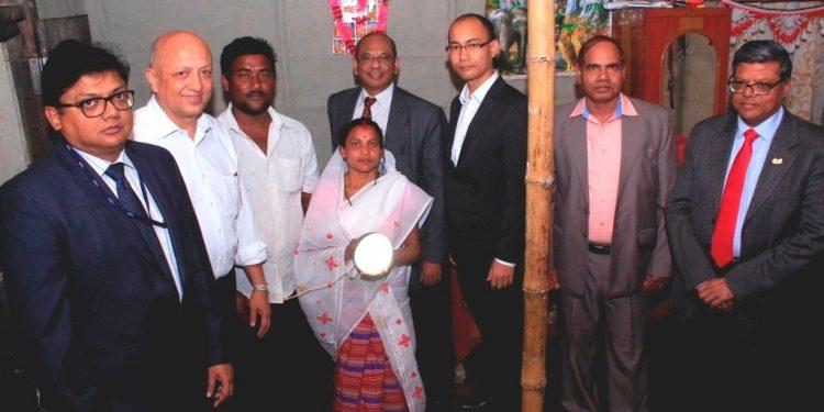Solar Home lighting system provided in households of Bokakhat Subdivision as part of NRL CSR
