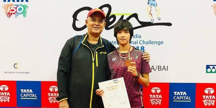 Assam's 19-year-old badminton prodigy Ashmita Chaliha, won the women's singles title at the Tata Open India International Challenge