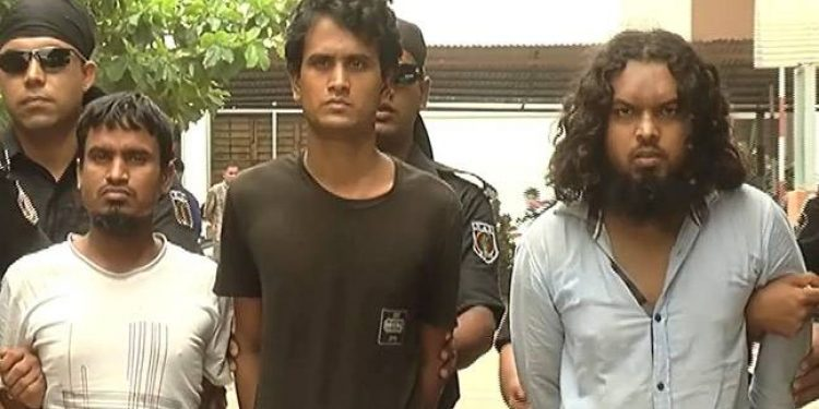 The arrested militants of the JMB group (File photo) , Image credit: India Today