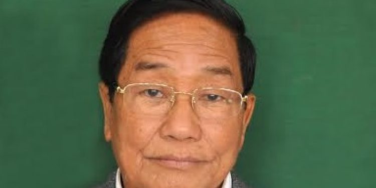 former minister Phungzathang Tonsing of Churachandpur