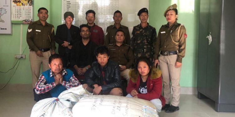 Arunachal: 30kg ganja seized in Naharlagun, 3 arrested