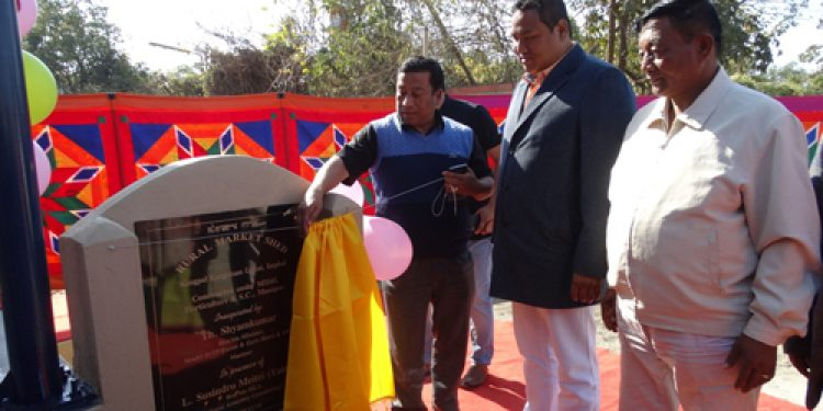 Manipur's Imphal East district gets new rural market shed