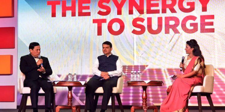 CM attends Republic Summit at Mumbai