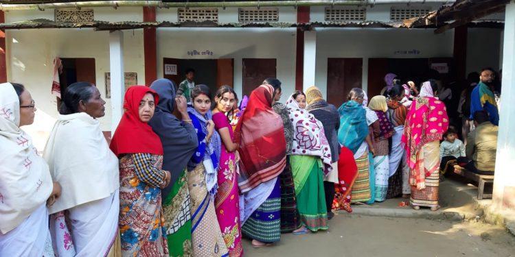 sivasagar polling
