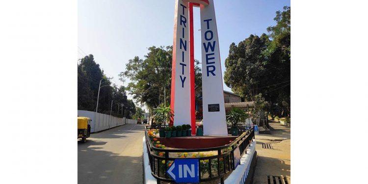 Nagaland: MLA Moatoshi Longkumer inaugurates Indisen village Trinity Tower in Dimapur