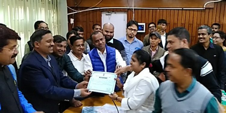 Winning candidates of ZPC Cachar get their 'pass' certificates