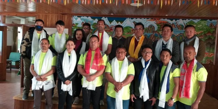 Eleven strength lifters from Sikkim