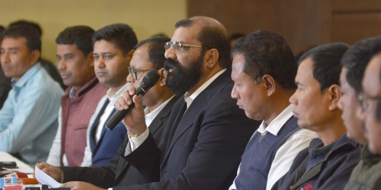 AASU and ethnic groups' press meet