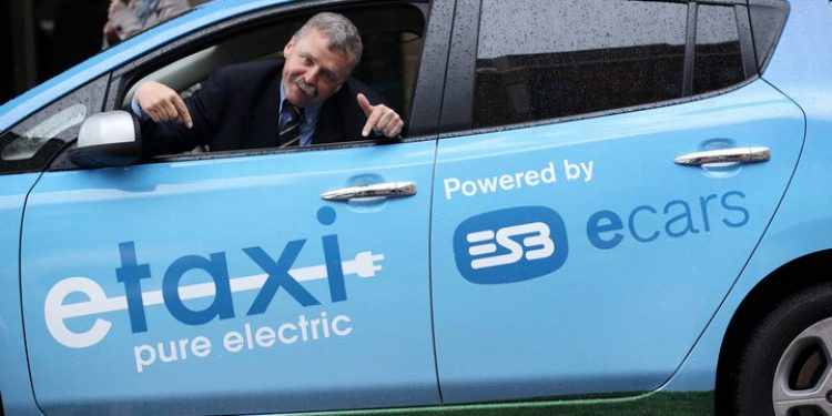 Electric taxi (Representative image)