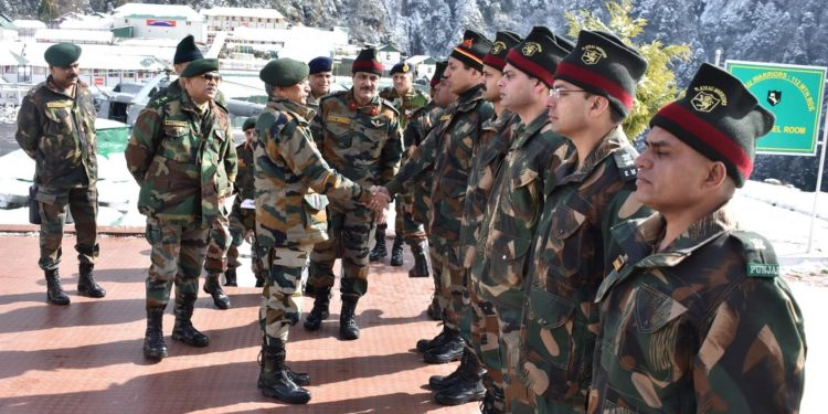 Lt Gen MM Naravane,  General Officer Commanding-in-Chief of Eastern Command visited forward areas, where he was briefed on security situation along the border and also interacted with the troops  on January  29, 2019. UB Photos
