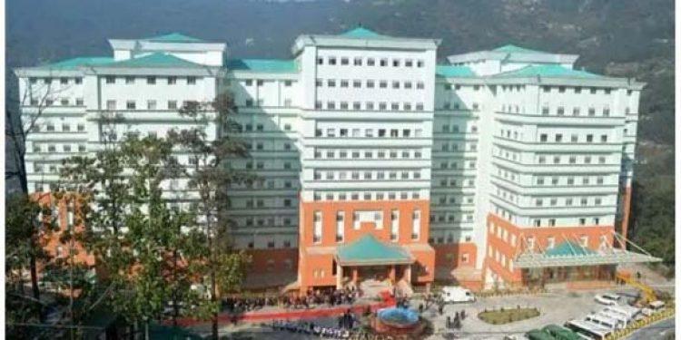 Hospital at Gangtok