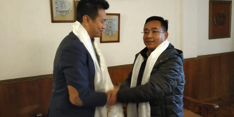 Golay and Bhutia