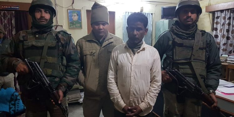 NSCN(K) over ground worker nabbed by Army in Tinsukia