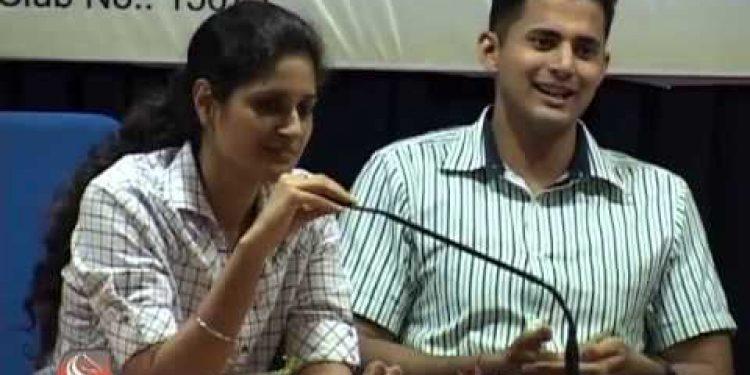 IPS) couple Karthik and Priyanka Kashyap