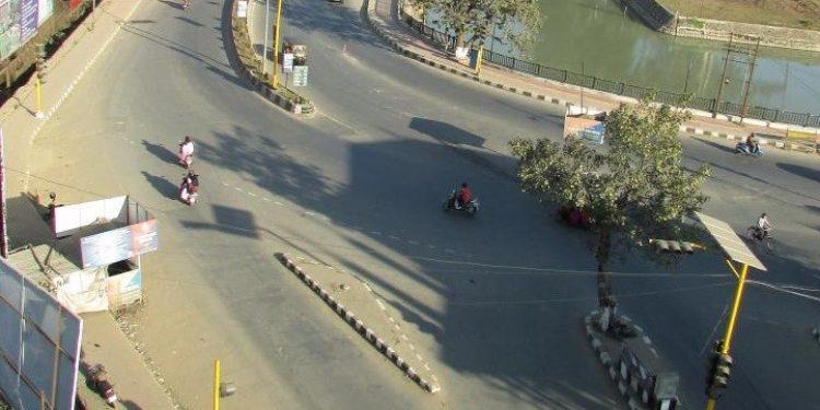 File image of shutdown in Manipur