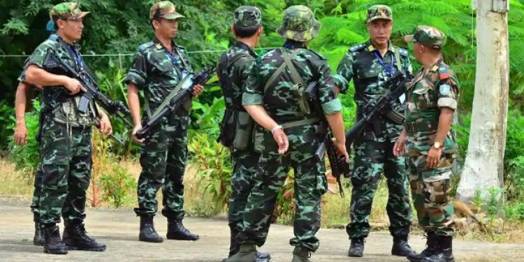 NSCN(IM) rebels. (Image for representational purpose only)