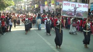 Huge rally in Agartala to pay tribute to Netaji 1