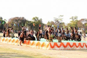 Vaiphei Cultural Troupe secured first position during Cultural Troupe -Display Category