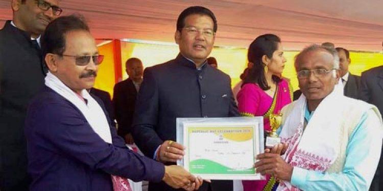 Padma Shri awardee Uddhab Bharali graces R-Day celebrations in Lakhimpur