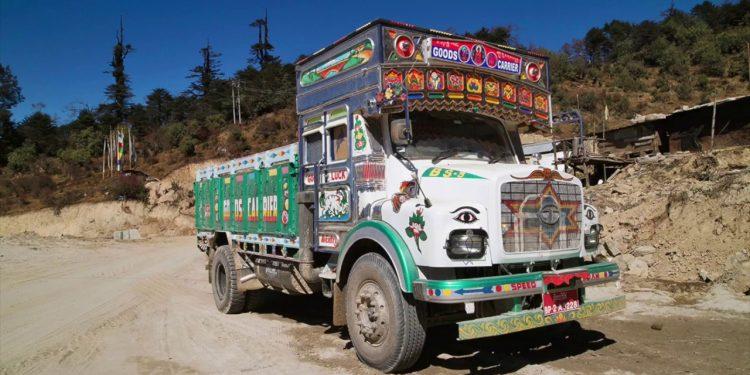 bhutan truck
