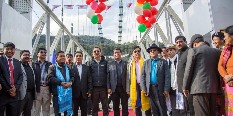 Bridge over Siang River