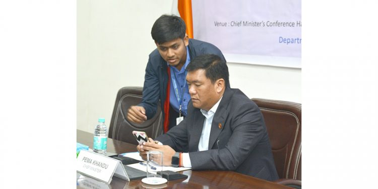 Khandu pushes for digitalization; State secretariat to go paperless