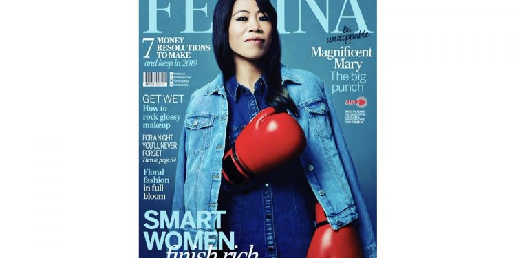 Manipur: Magnificent Mary graces January cover of Femina