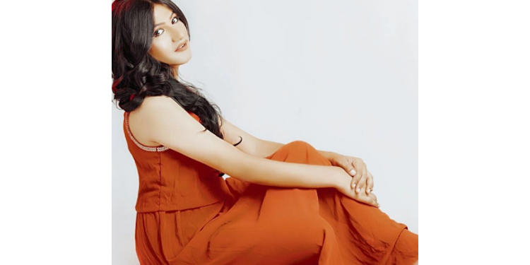 Actress Mahika Sharma promotes festival of the Assam tea tribes