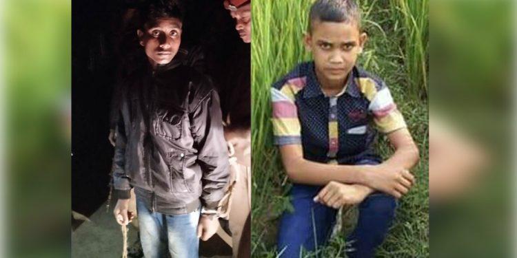 Accused Soriful Islam (L) and victim Imdadul Hoque. Image: Northeast Now