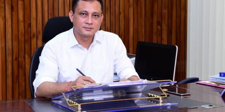 The new Deputy Commissioner of Kamrup (Metro) D.C. is Biswajit Pegu
