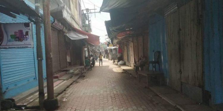 Bharat Bandh hits normal life in Agartala. Image credit: Facebook Representative image