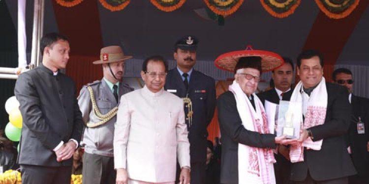 Republic Day Journalism Award conferred to Dhirendra Nath Chakraborty