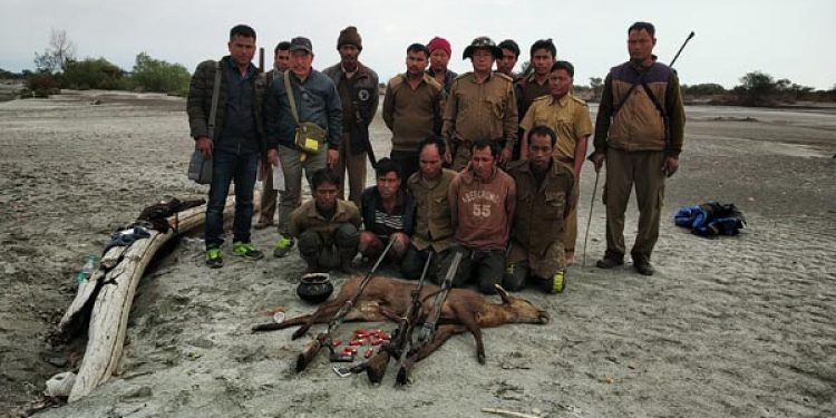 Arunachal: 5 arrested for hunting Hog deer at D Ering Wildlife Sanctuary 1