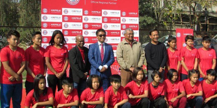 Women footballers of Manipur.