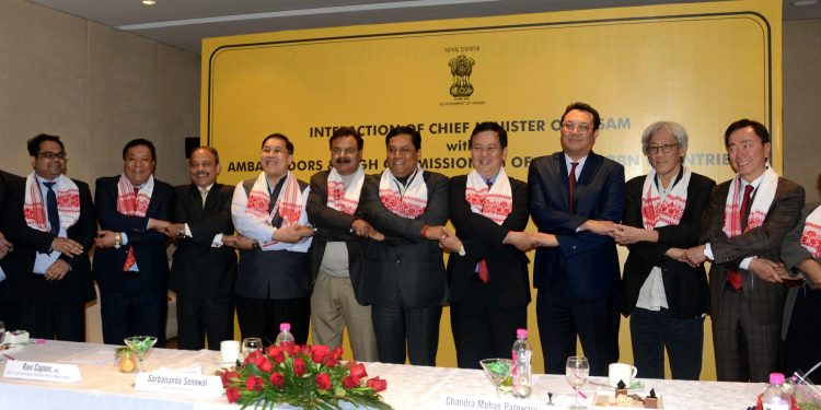 05-02-19 Guwahati- CM with Ambassadors of ASEAN and BBN (4)