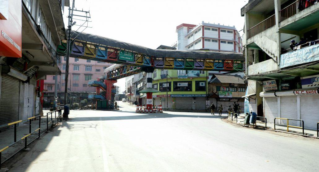 11-02-19 Kohima- Bandh against Citizenship Amendment Bill (3)
