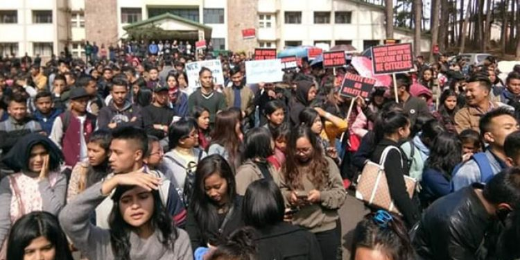 Victory rally in Shillong