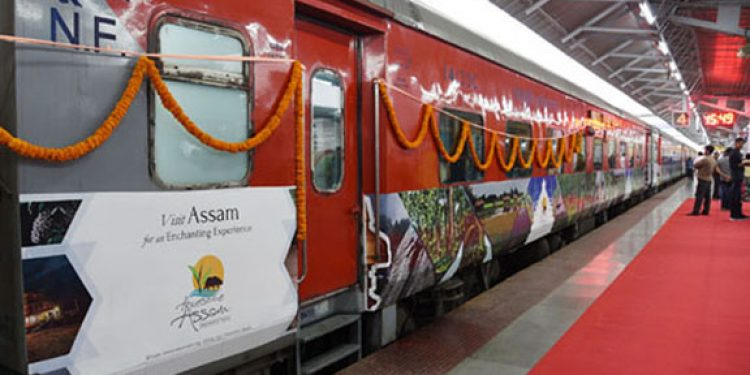 Tourism train for promoting 'Awesome Assam' flagged off in Guwahati