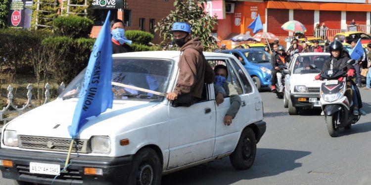 13-02-19 Shillong- Khasi Students Union celebrating (2)