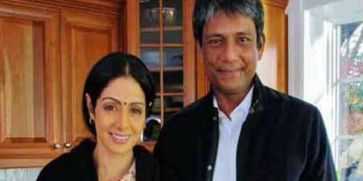 Adil Hussain with Sridevi
