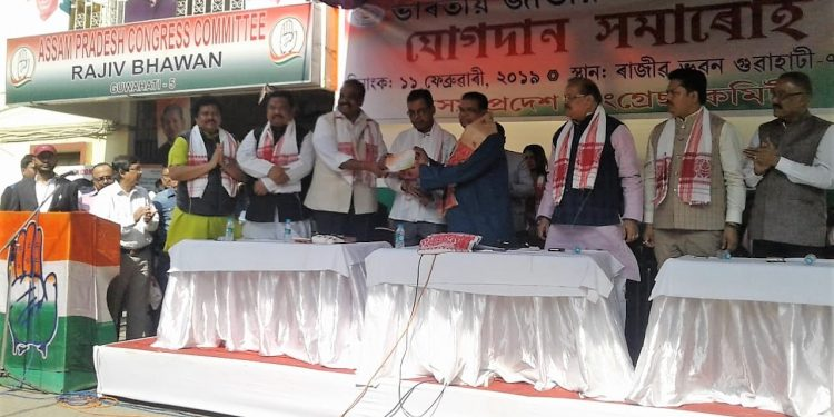Former Addl Chief Secy of Assam govt MGVK Bhanu joins Congress
