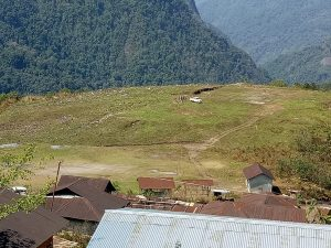 The picturesque Ahi Valley in Dibang
