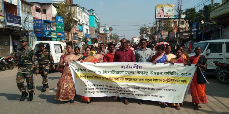 Tripura displaced people