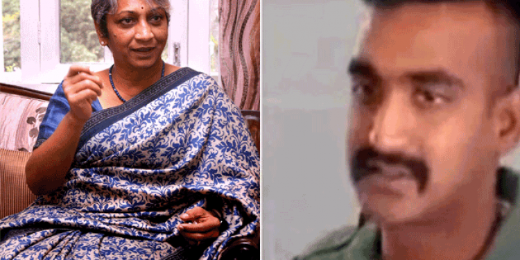 """Wg Cdr Abhinandan's """"bravery DNA"""" came from his mother 1"""
