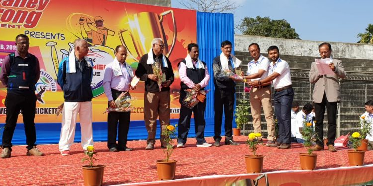 Distinguished guests being felicitated ahead of the opening of Barak Premier League, Season - II (1)