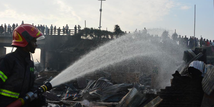 Fire in Bangladesh