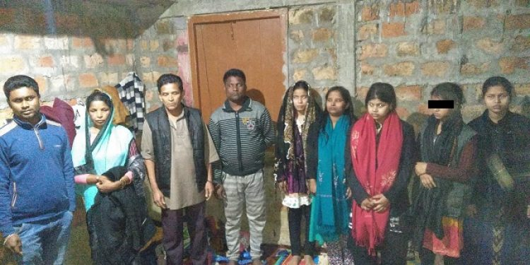 Eight suspected to be as Rohingyas arrested on Sunday evening from Sonabarighat of Cachar district