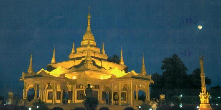 Golden Pagoda at Namsai