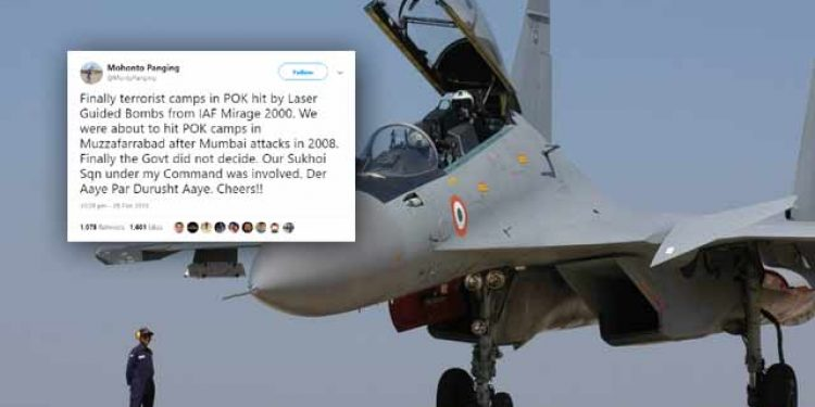IAF was ready for attack on POK in 2008, says ex-commander of Su-30 squadron 1